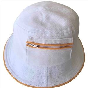 RED and WHITE FENDI HAT